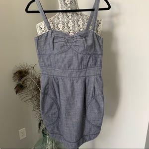 ARITZIA Wilfred Mini Dress Blue Size S/M